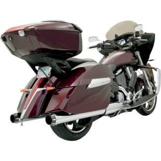 "Bassani 4"" Quick Change Mufflers - Chrome"