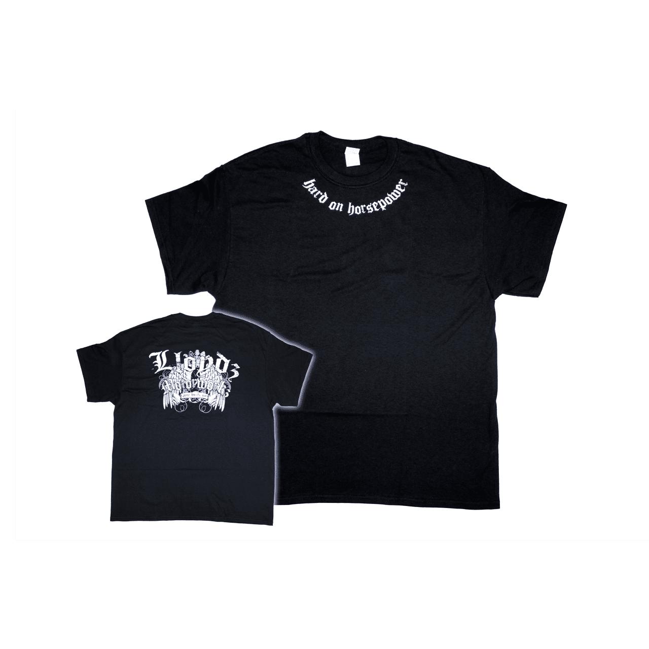 LLOYD'Z Collar-Print T-Shirt