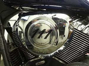 "LLOYD'Z High-Flow Air Cleaner for Indian Thunderstroke 111"" Motors - Stock Cover"