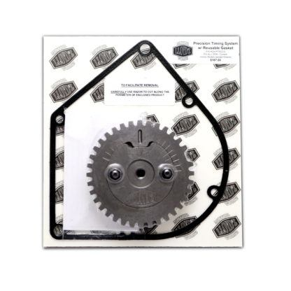 LLOYD'Z Adjustable Timing Gear W/Reusable Cam Chain Cover Gasket