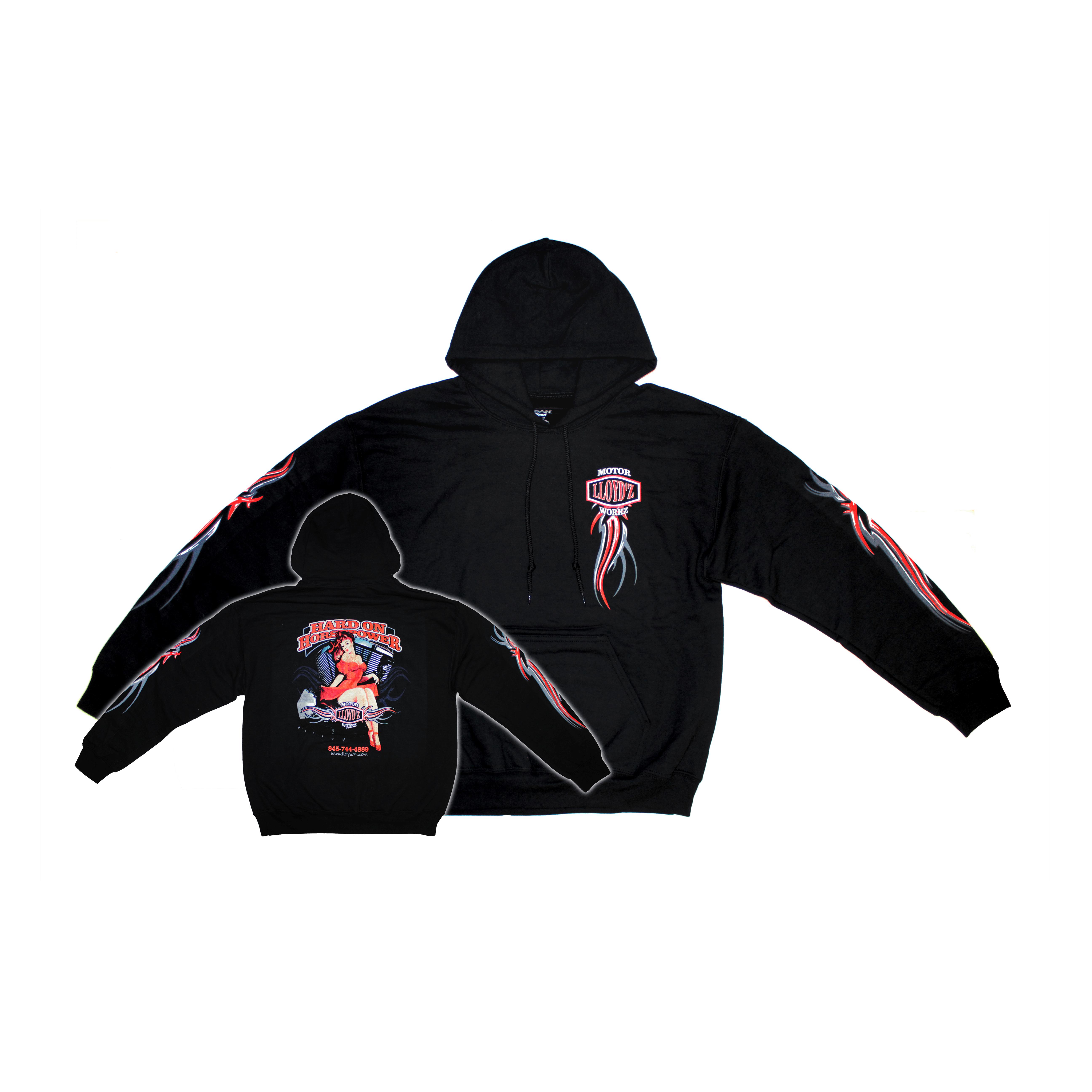 LLOYD'Z Pin-Up Girl Hooded Sweatshirt