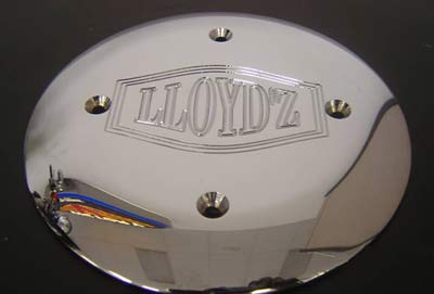 LLOYD'Z Primary Support Plate - Chrome