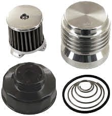 K&P Oil Filter - Chrome