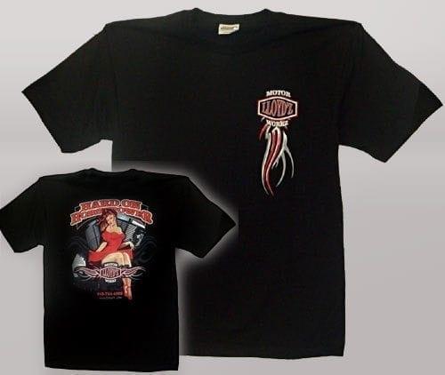 LLOYD'Z Pin-Up Short-Sleeve T-Shirt - Black