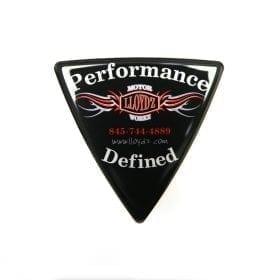 wedge badge