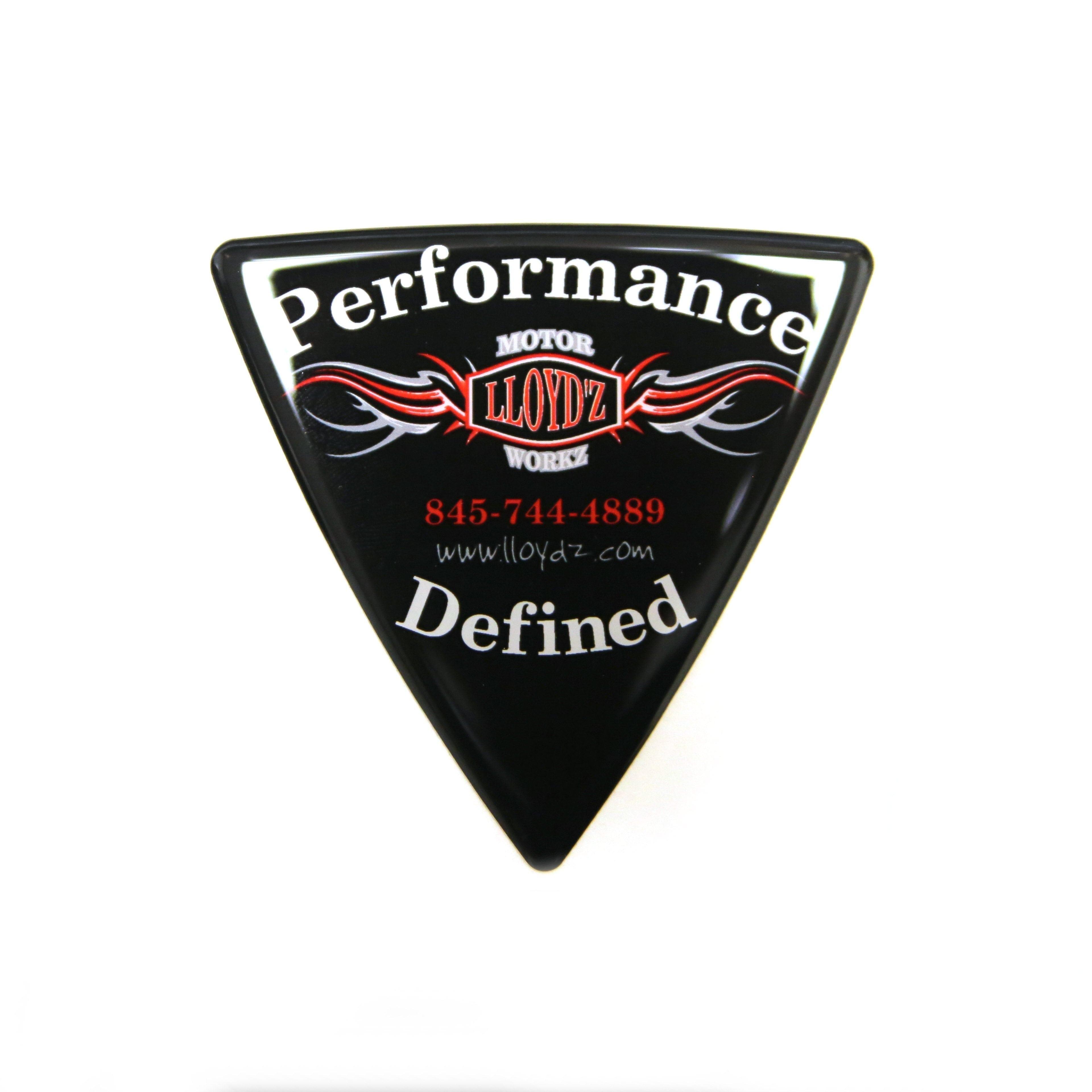 LLOYD'Z Wedge Badge