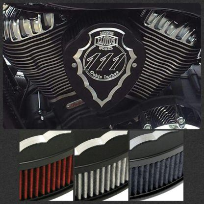 LLOYD'Z Facet-Cut Airbox - Black Powdercoat, Contrast-Cut Finish