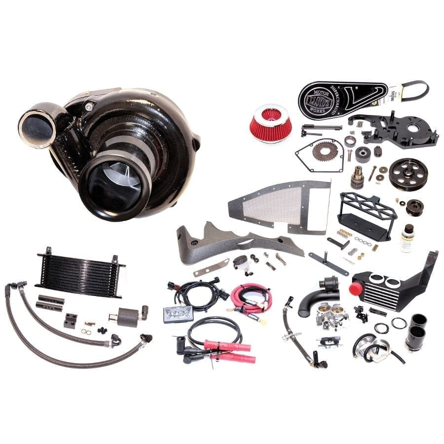 Turbo Harley Oil: Victory Supercharger Kit
