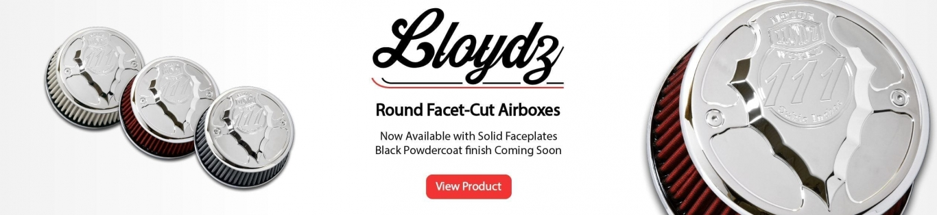 LLOYD'Z Round Facet-Cut Airboxes
