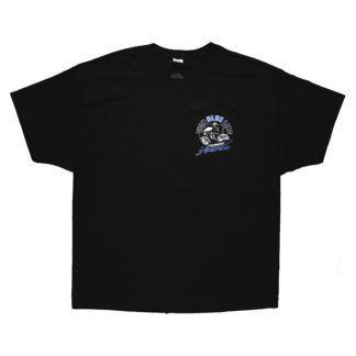 Thin Blue Line Across America Short-Sleeve T-Shirt, Black