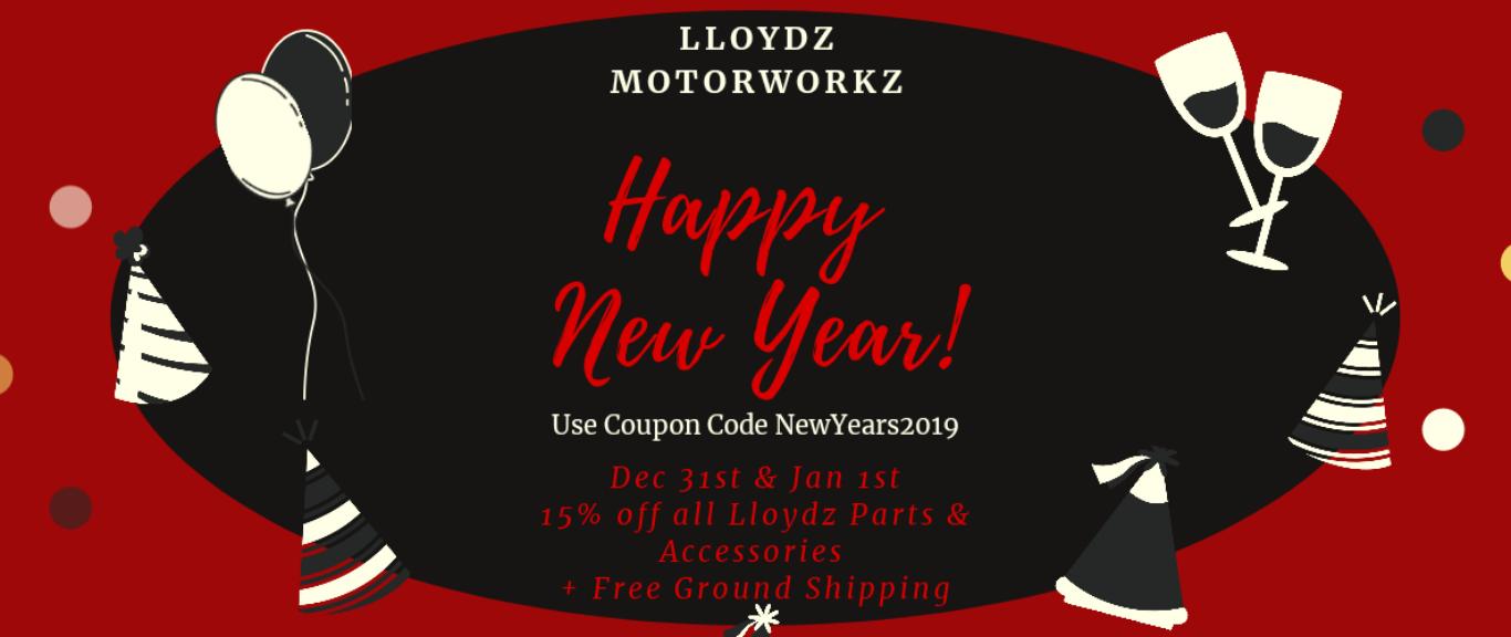 Use Coupon Code NewYears2019